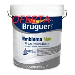 MATE EMBLEMA BRUGUER BLANCO 15L