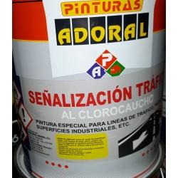 TRAFFIC SUELOS SEÑALIZACION CLOROCAUCHO ADORAL