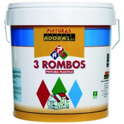 MATE 3 ROMBOS BLANCO ADORAL